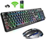 Illuminated Wireless Keyboard & Mouse